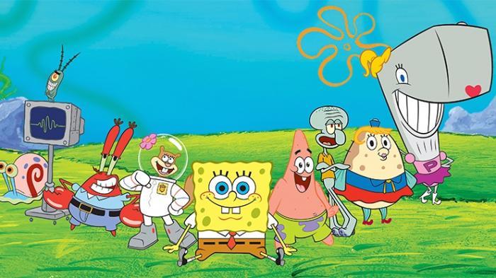 Daftar Nama Karakter Spongebob Squarepants Dan Gambarnya Lengkap