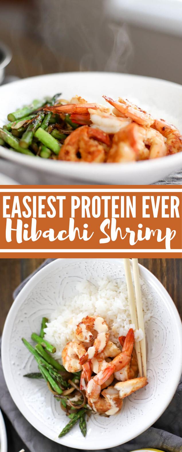 EASIEST PROTEIN EVER – HIBACHI SHRIMP #dinner #seafood #shrimp #healthy #comfortfood