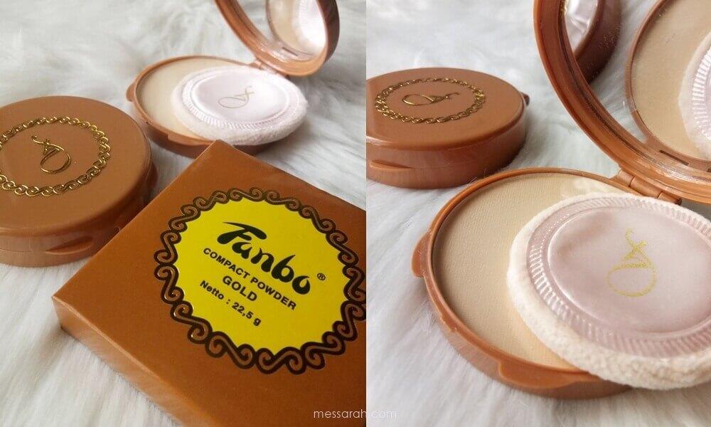 [REVIEW] Fanbo Precious White & Pancake Gold Compact Powder