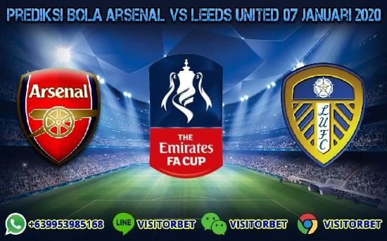 Prediksi Skor Arsenal vs Leeds United 07 Januari 2020