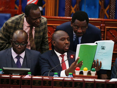 Senators discussing health matters on rogue Hospitals