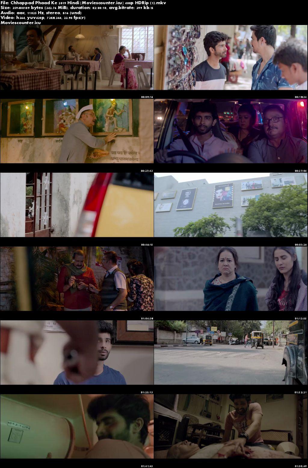 Screen Shots Chhappad Phaad Ke 2019 Hindi HD 720p