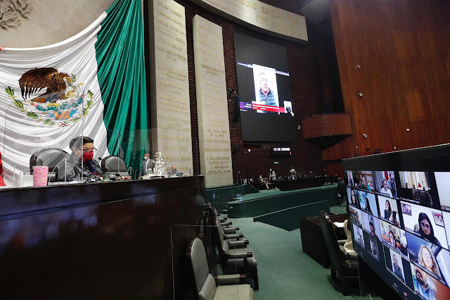 Comisión Permanente exhorta a las secretarías de Salud y Hacienda a informar la situación del país ante el Covid-19