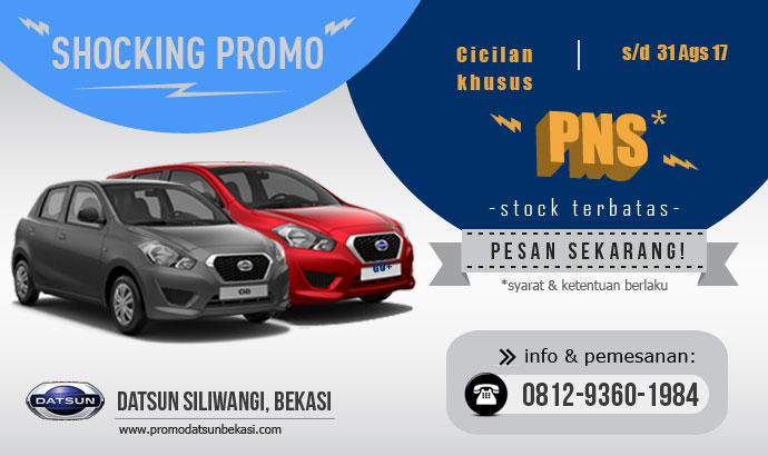 Promo Datsun - Cicilan Khusus PNS