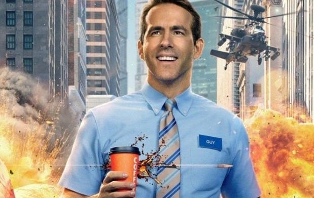 Free Guy Filme de Ryan Reynolds ganha pôsteres