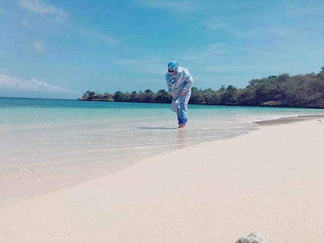 Pantai Pink di Kabupaten Lombok Timur, sumber ig @winnymargaretha