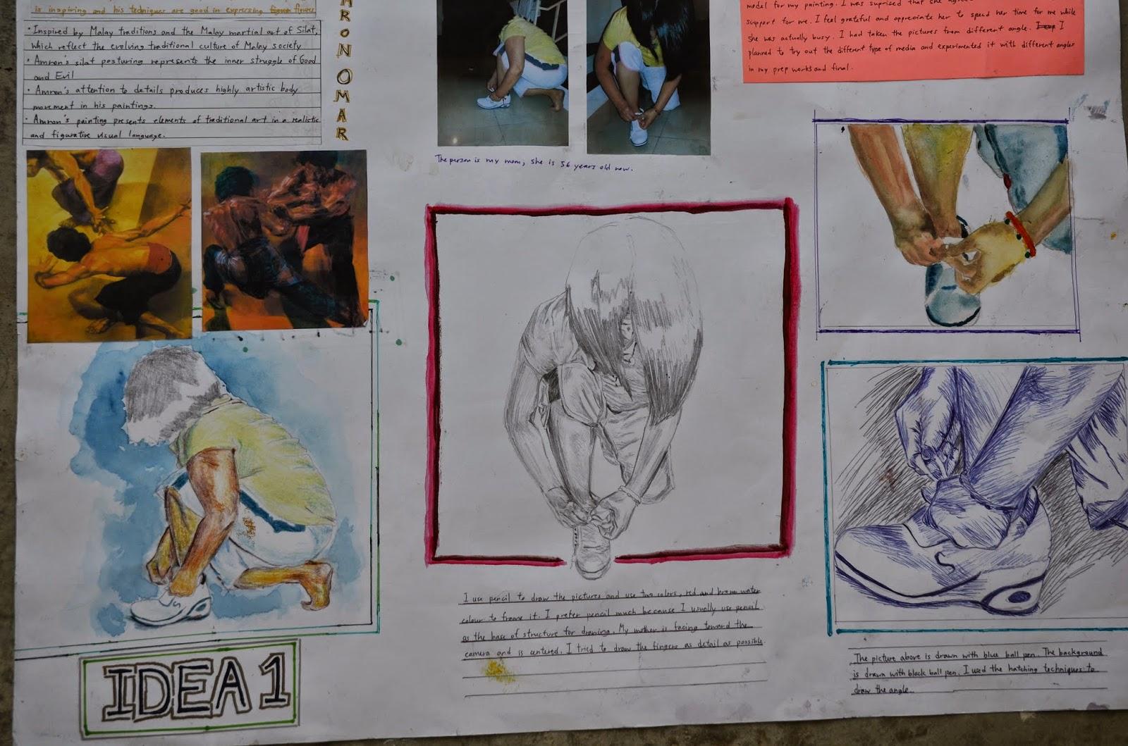 igcse batch paper prep student artist