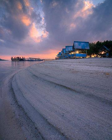 Pantai Dewi Mandapa Bandar Lampung