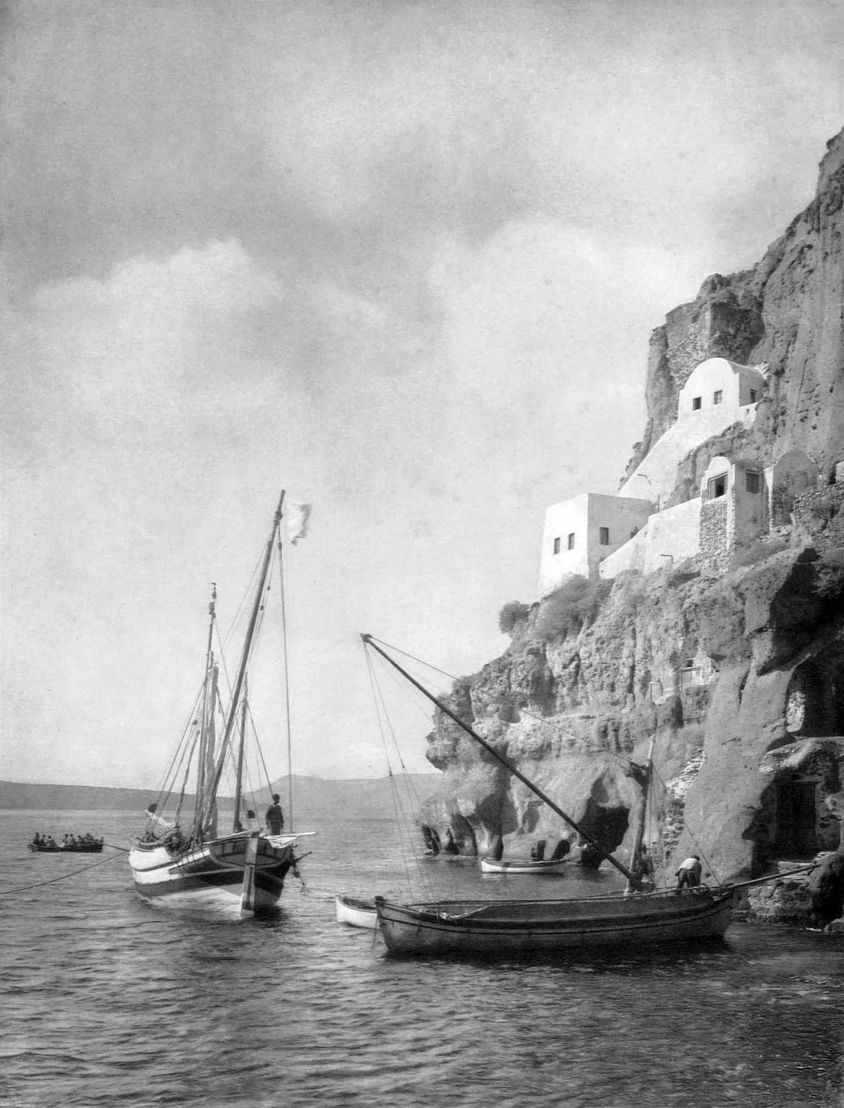 Old photos of Santorini (Path 1)   56864 558523557498307 353578164 o
