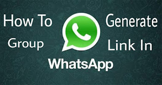 generate Whatsapp Group Invite Link