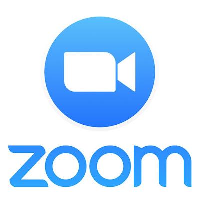 شعار شركة زوم Zoom لمحادثات الفيديو