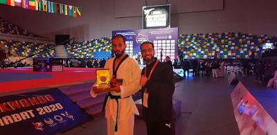 محمد السنوسي يتأهل  لدورة الألعاب البارألمبية طوكيو2020