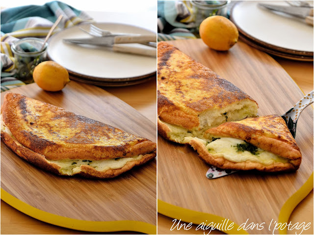 omelette-soufflée-fromage-gremolata-italie