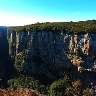 Cânion Itaimbezinho: Vista da Trilha do Cotovelo, Parque Nacional de Aparados da Serra