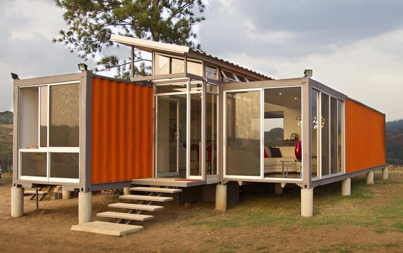 Shipping container homes containers of hope costa rican for Find builders in your area