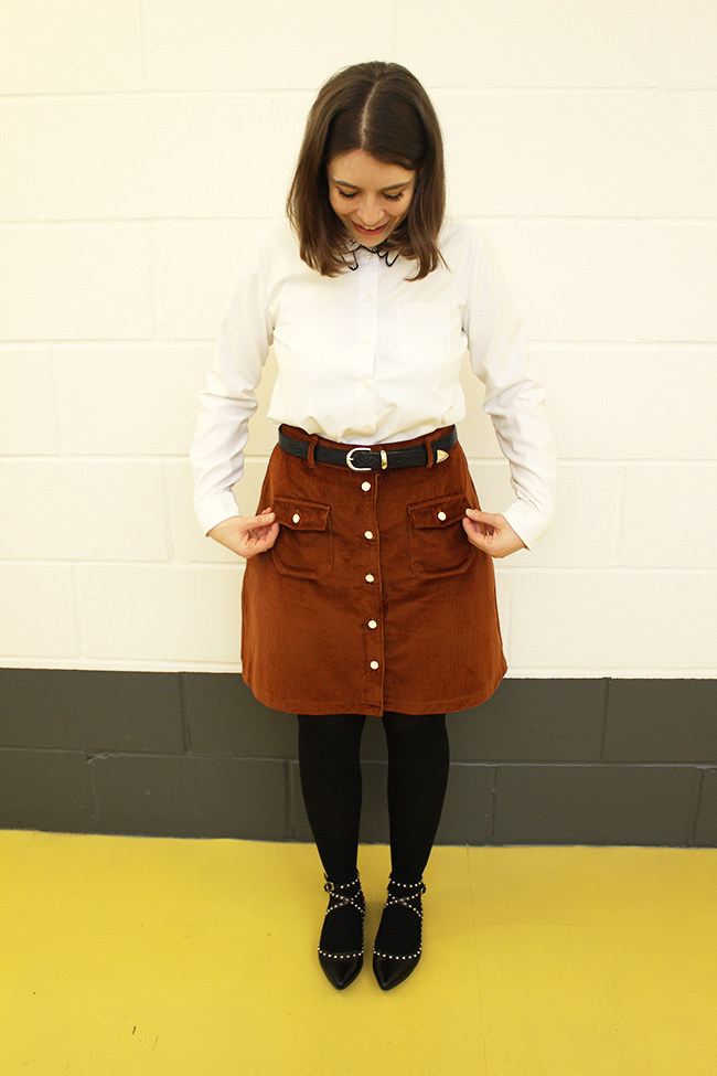 Nikki's Bobbi skirt - Tilly and the Buttons