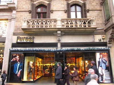 Furest store in Barcelona