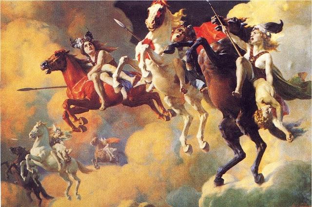 The true Story of Valkyries mythology the warriors of Odin