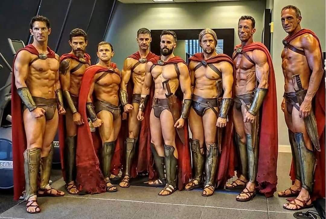 romanos desnudos