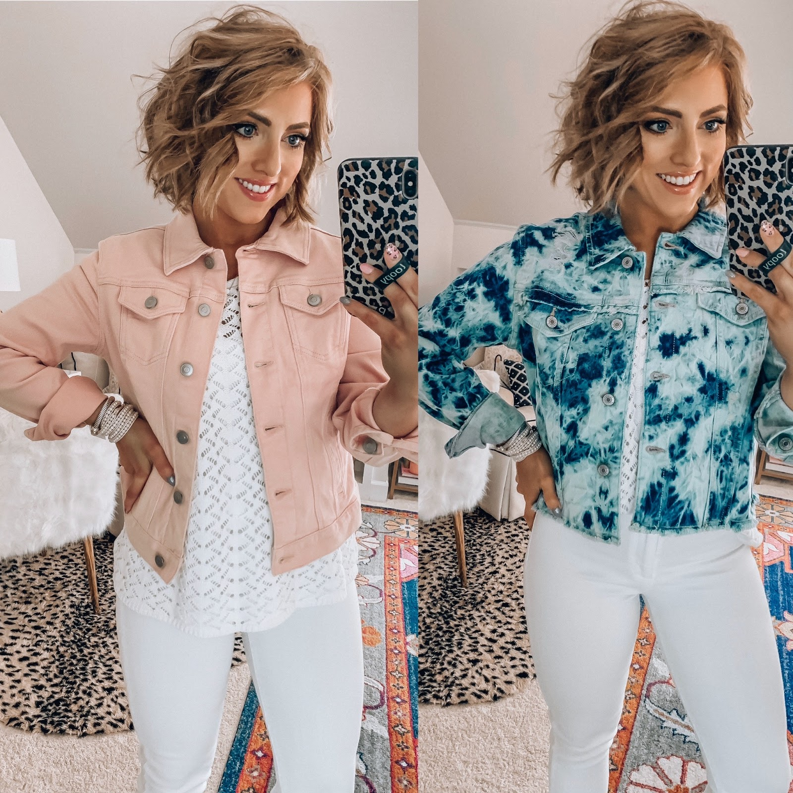 Spring Finds With Walmart - Something Delightful Blog #WalmartFashion #SpringFashion #AffordableFashion #TieDye #Overalls #Chambray