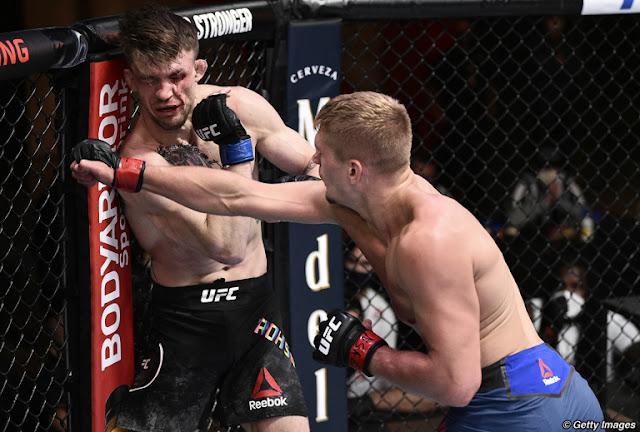 Max Rohskopf Austin Hubbard UFC On ESPN 11