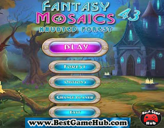 Fantasy Mosaics 43 Haunted Forest PC Game Free Download