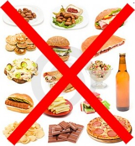 Alimentacion Prohibido Chatarra