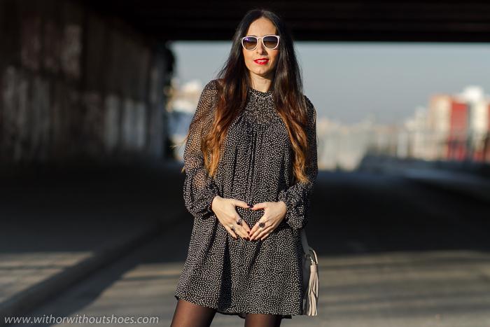 BLogger influencer de moda española embarazada