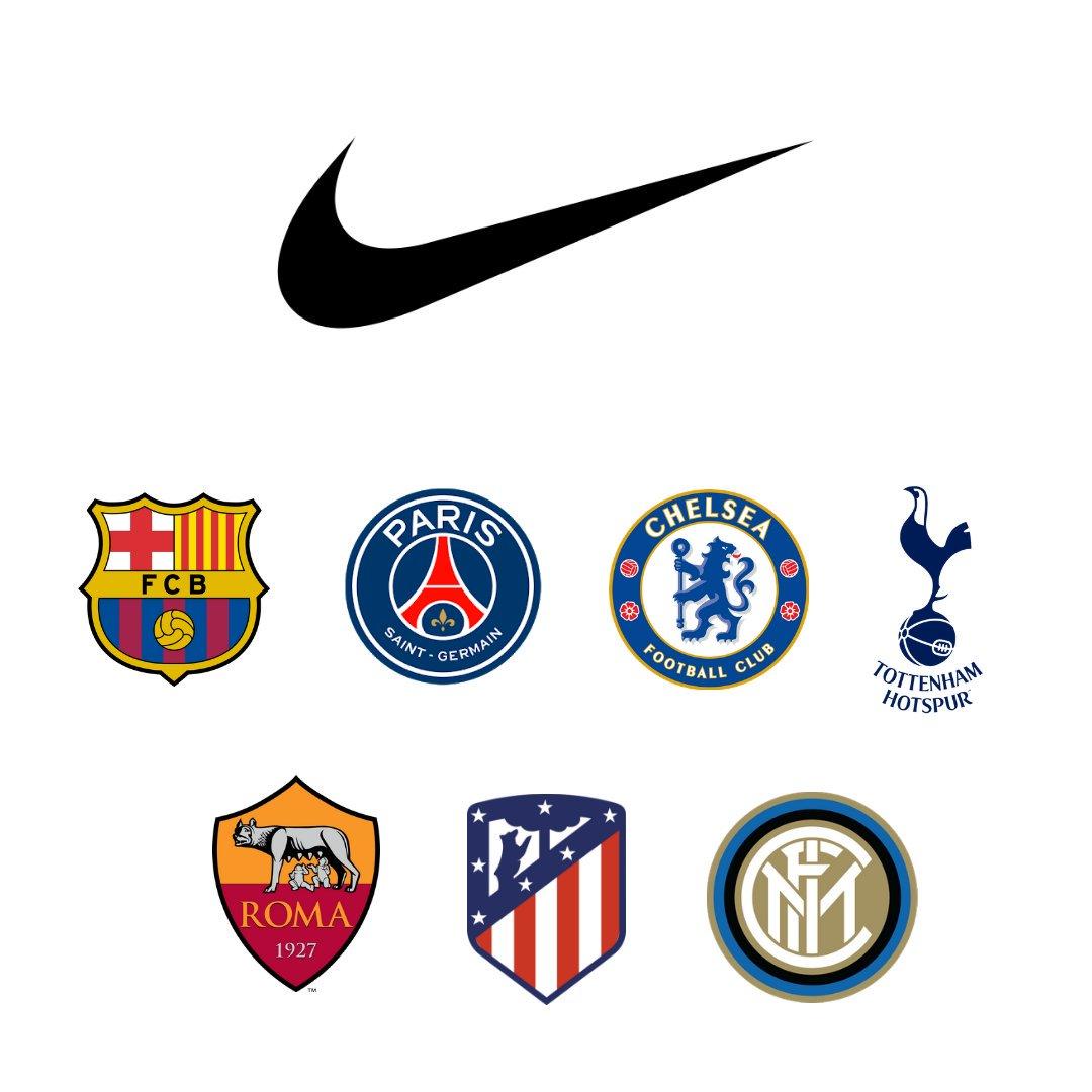 nouveau concept 7f269 dd5d9 Adidas, Nike & Puma - Each Brand's Top Clubs From 2019-20 ...