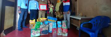 Pertamina Serahkan Bantuan Sosial ke Keluarga Balita Stunting