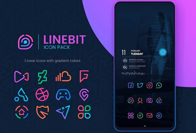 Linebit icon pack apk free download