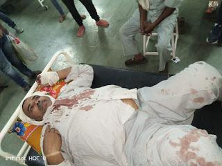 सब्जी मंडी में दिन दहाड़े 45 वर्षीय युवक की चार लोगों ने जमकर की मार पीट