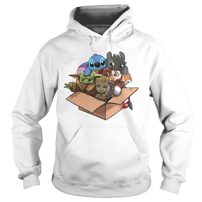 Baby Yoda Gizmo Groot Stitch And Toothless Hoodie, Baby Yoda Gizmo Groot Stitch And Toothless Sweatshirt, Baby Yoda Gizmo Groot Stitch And Toothless  Shirts