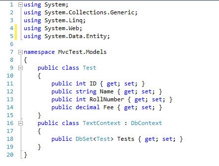 Amit Raya: Create Websites using SQL Express with ASP NET MVC