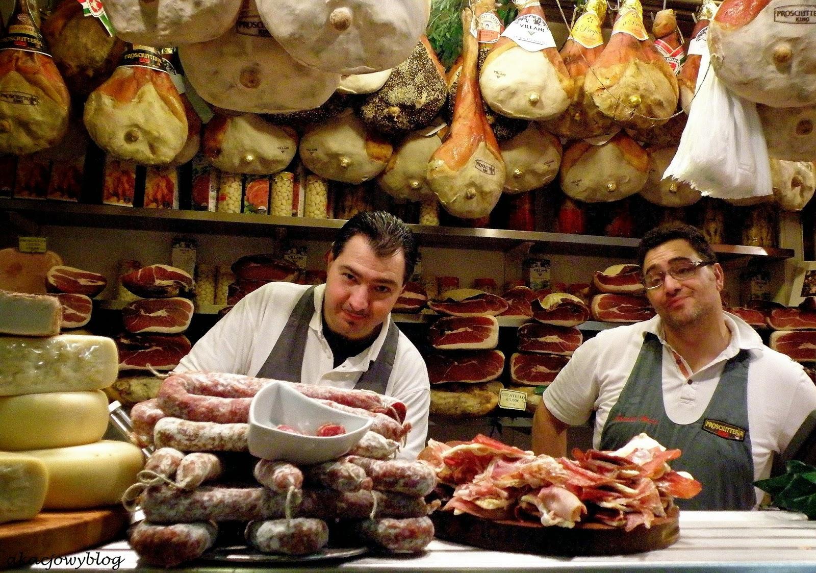 Mercato Centrale we Florencji.