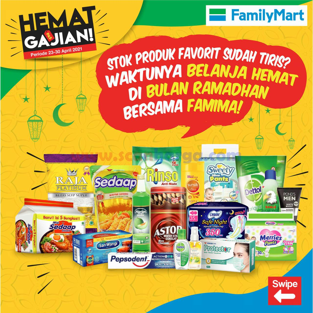 Katalog Promo Family Mart Hemat Pas Gajian 23 - 30 April 2021