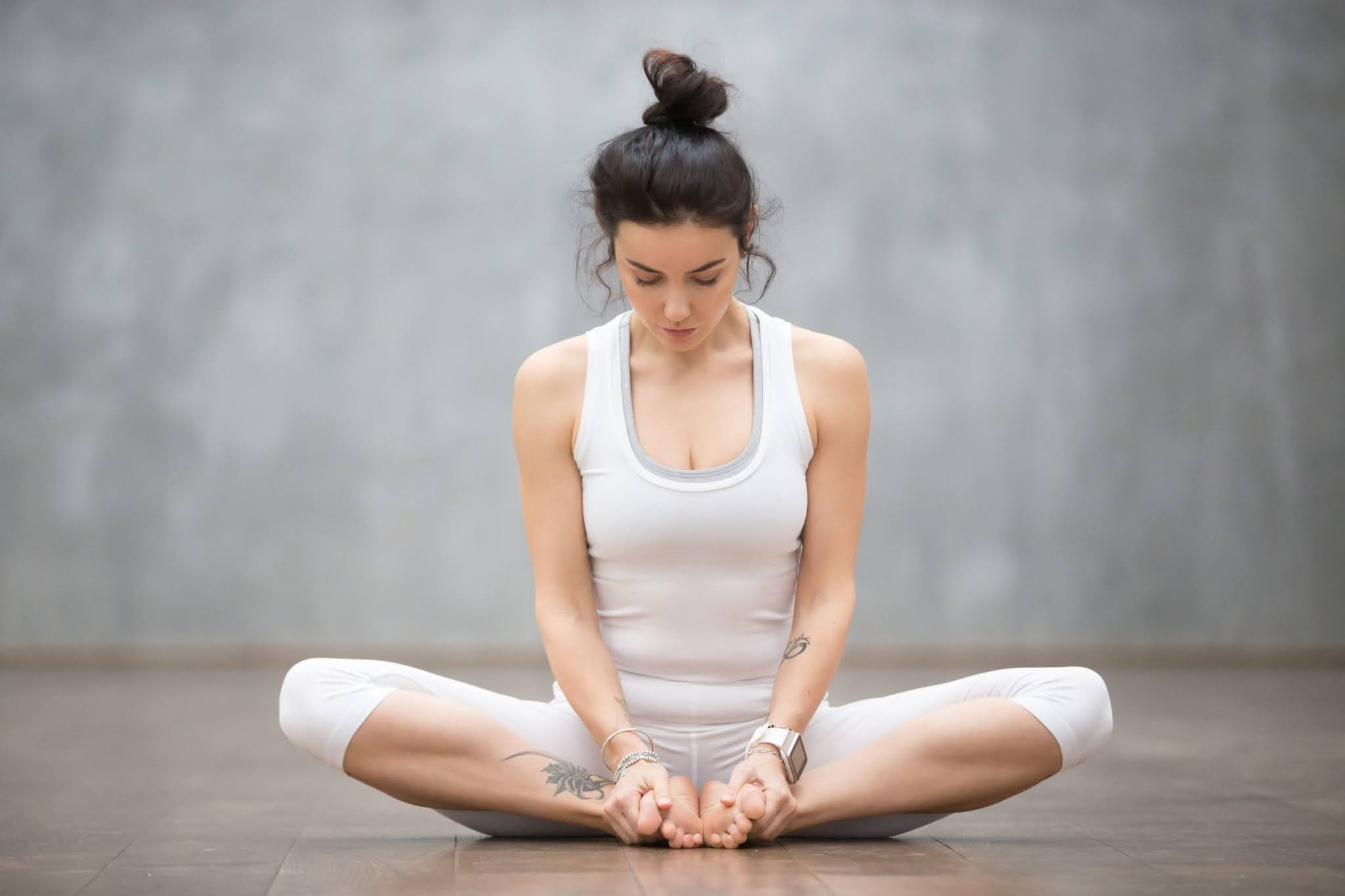 Baddha Konasana - Bound Angle Posture From Tadasana 4