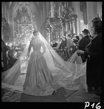 A Behind The Scenes Photo Of Wedding Dress
