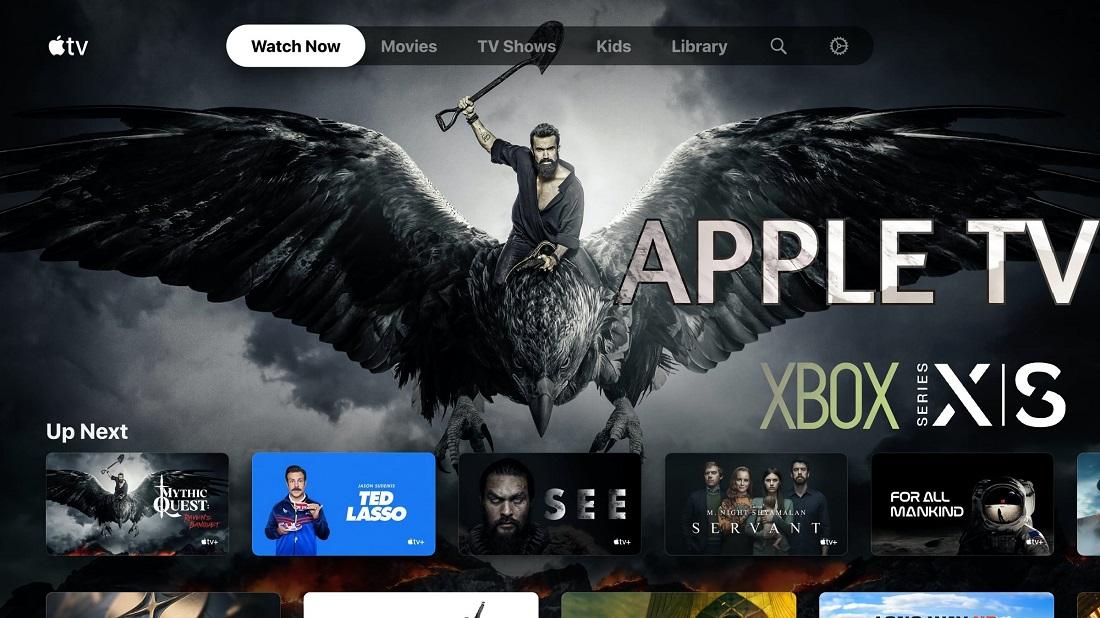 APPLE TV XBOX SERIES S Y X DESCARGA