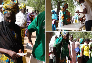 Coronavirus: FG Begins Disbursement Of N20,000 To Poor Nigerians In Rivers, Anambra, Plateau (See Photos).