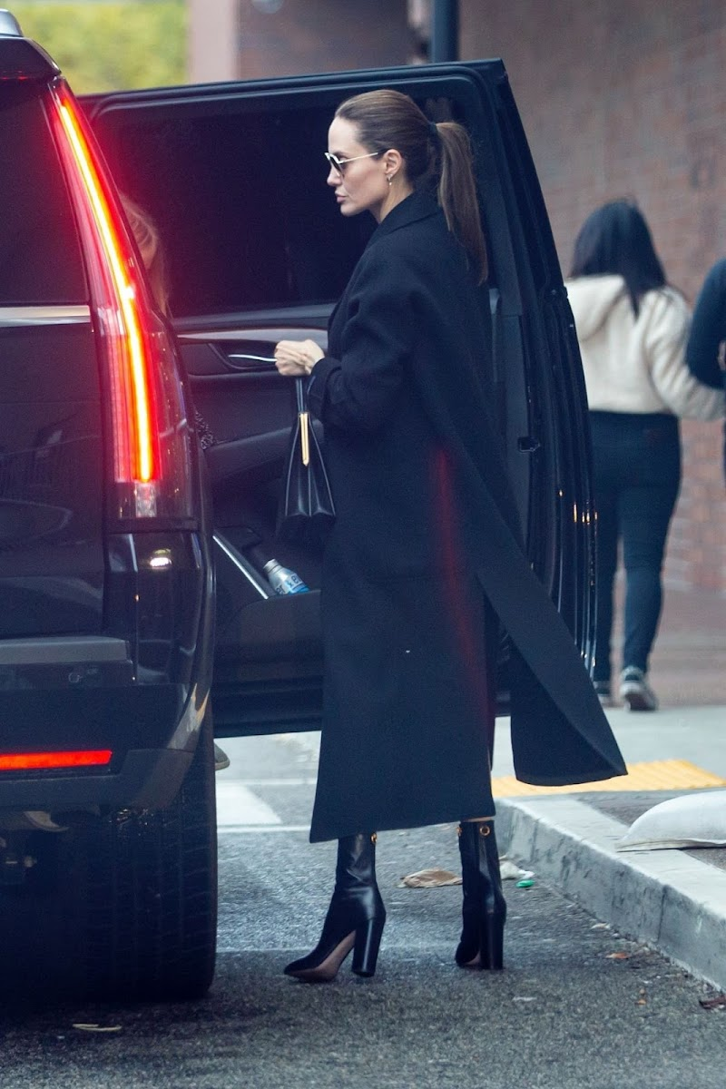 Angelina Jolie Out For Shopping in Los Angeles 23 Dec-2019