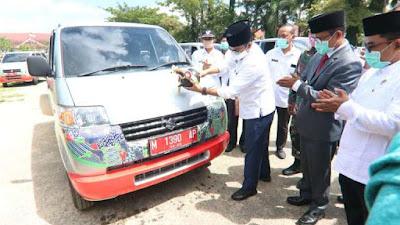 Badrut Tamam Distribusikan 178 Mobil Sehat Sigap Serentak di 13 Kecamatan