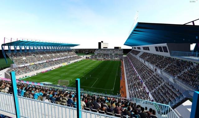 PES 2021 Ekimae Real Estate Stadiums