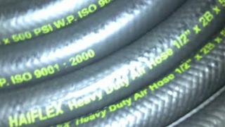 Selang karet jenis extrude untuk kegunaan angin bertekanan 500psi pemesanan wa.081330515560