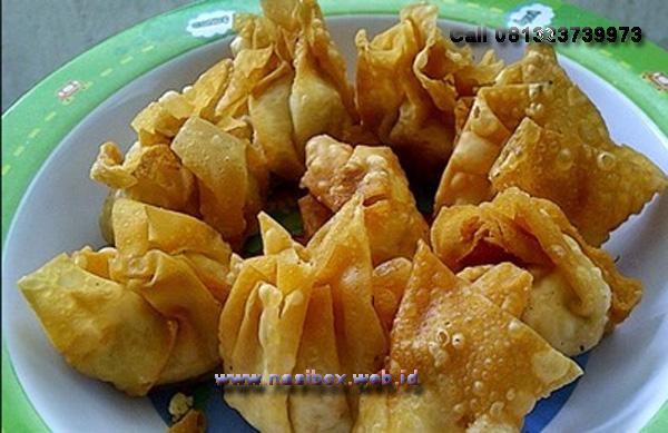 Resep pangsit tahu-nasi box walini ciwidey