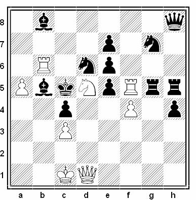 Problema de mate en 2 compuesto por Dragan Stojnic (1º Premio, Wola Gulovska 2004)