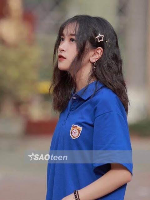 Xinh đẹp 'xuất thần' với bức hình chụp lén của nữ sinh Hà Thành - Ảnh 5