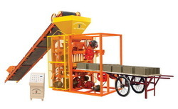 cement bricks making plant