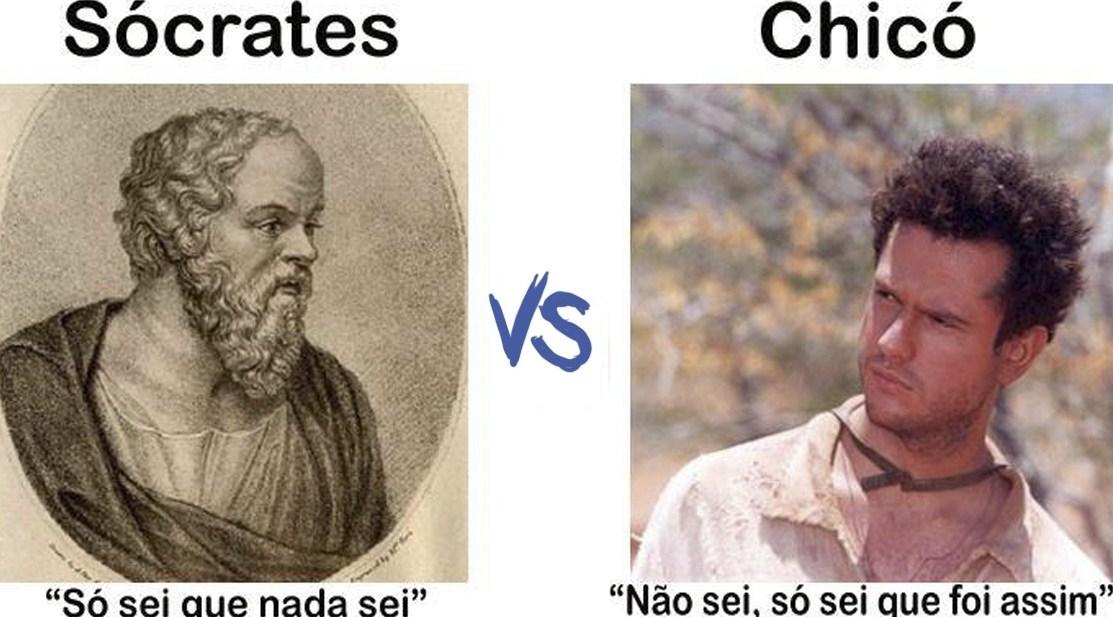 So Sei Que Nada Sei Frase De Socrates: Mutamos: Conhecimento