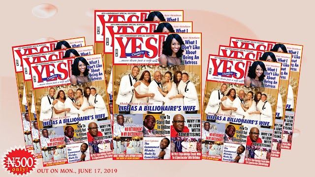 YES INTERNATIONAL! Magazine's Special All-Colour Edition To Mark 8th Anniversary Hits The Stands